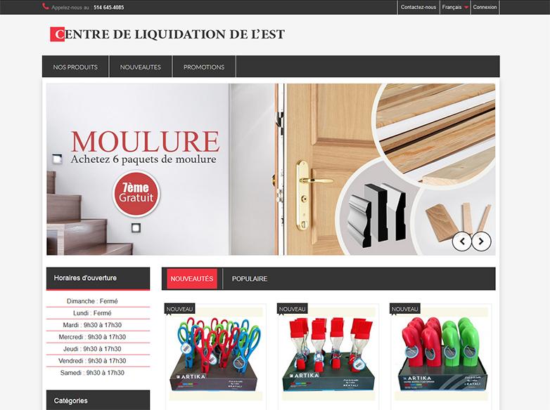 Centre de liquidation de l 39 est joomla montr al for Centre liquidation meuble montreal