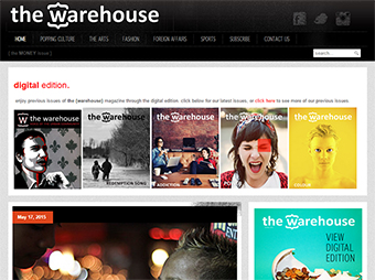 The {Warehouse} Magazine