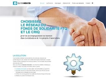 Solution Innovation - Le réseau du Fonds de solidarité FTQ et le CRIQ